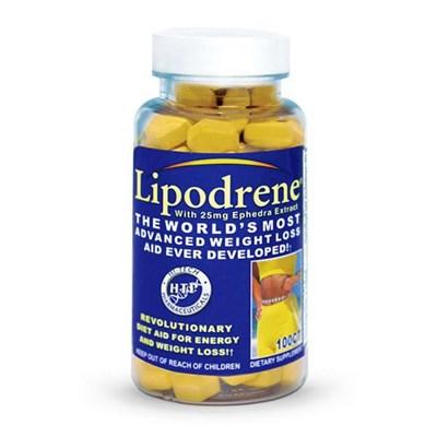 Hi-Tech Pharmaceuticals Lipodrene with 25mg Ephedra (100таб) - фото 4559