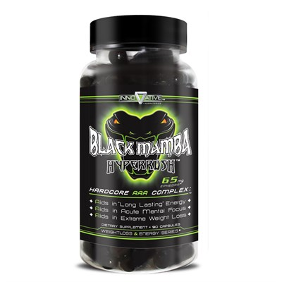 Innovative Labs - Black Mamba Hyperrush (90капс) - фото 4563