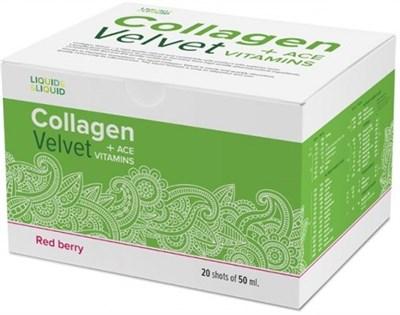 LIQUID & LIQUID - Collagen Velvet + ACE (20x50мл) - фото 4570