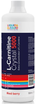 LIQUID & LIQUID - L-Carnitine Crystal 5000 (1000 мл) - фото 4575