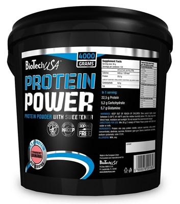BioTech USA Protein Power (4000гр) - фото 4580