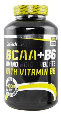 BioTech USA BCAA+B6 (340таб) - фото 4582