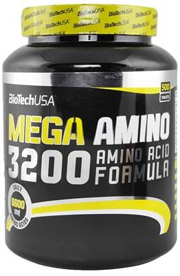 BioTech USA Mega Amino 3200 (500таб) - фото 4583