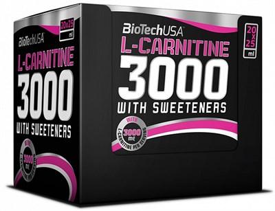 BioTech USA L-Carnitine Ampule 3000 (20амп) - фото 4586