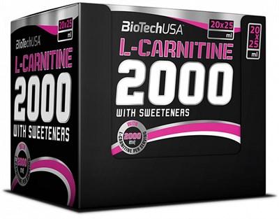 BioTech USA L-Carnitine Ampule 2000 (20амп) - фото 4587