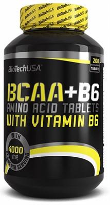 BioTech USA BCAA+B6 (200таб) - фото 4592