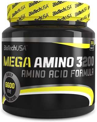 BioTech USA Mega Amino 3200 (300таб) - фото 4593