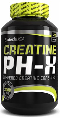 BioTech USA Creatine PH-X (210капс) - фото 4594