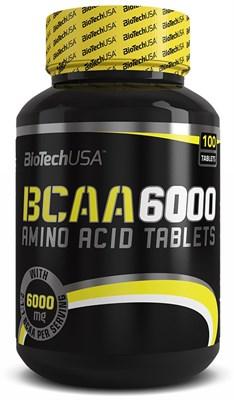BioTech USA BCAA 6000 (100таб) - фото 4596