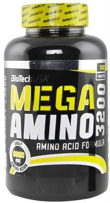 BioTech USA Mega Amino 3200 (100таб) - фото 4612