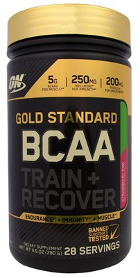 Optimum Nutrition - Gold Standart BCAA (280гр) - фото 4695