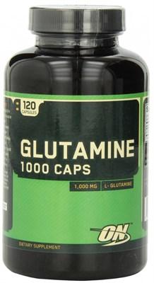 Optimum Nutrition Glutamine Caps 1000 mg (120капс) - фото 4707