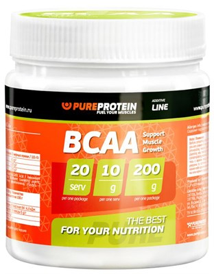 PureProtein - BCAA (200гр) - фото 4753