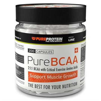 PureProtein - BCAA (200капс) - фото 4754