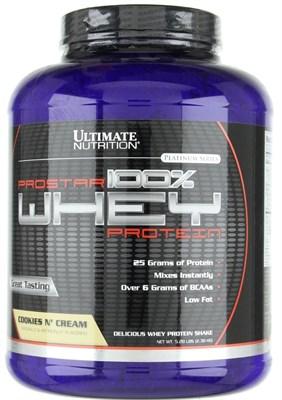 Ultimate Nutrition 100% Prostar Whey Protein (2390гр) - фото 4766