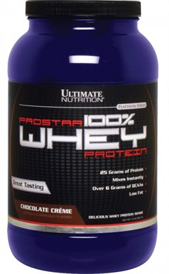 Ultimate Nutrition 100% Prostar Whey Protein (907гр) - фото 4767