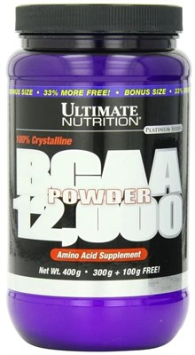Ultimate Nutrition BCAA 12000 Powder (400гр) - фото 4769