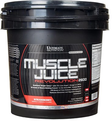 Ultimate Nutrition Muscle Juice Revolution 2600 (5040гр) - фото 4772