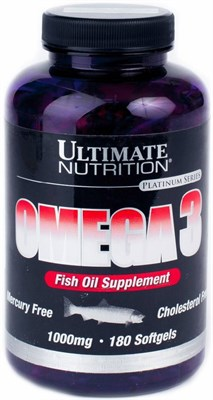 Ultimate Nutrition Omega 3 (180капс) - фото 4773
