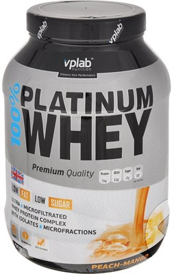 VP Laboratory 100% Platinum Whey (908гр) - фото 4777