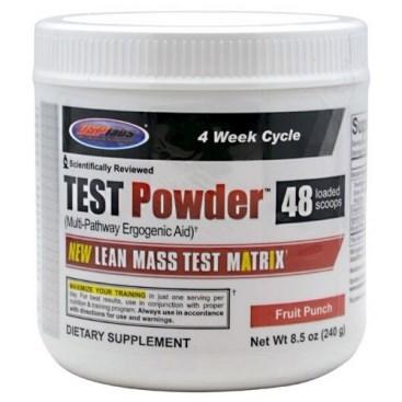 Usplabs Test Powder (240гр) - фото 4888