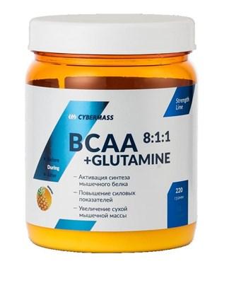 CyberMass - BCAA+Glutamine (220гр) - фото 4911