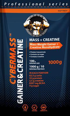 CyberMass - Gainer&Creatine (1000гр) - фото 4960