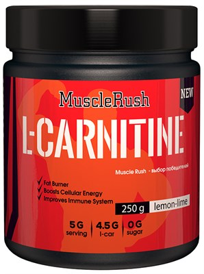 Muscle Rush L-Carnitine (250гр) - фото 4981