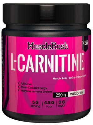 Muscle Rush L-Carnitine for Women (250гр) - фото 5002