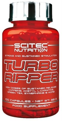 Scitec Nutrition - Turbo Ripper (100капс) - фото 5009