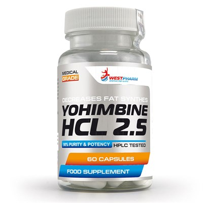 WESTPHARM Yohimbine HCL 2.5 (60капс) - фото 5120