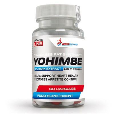WESTPHARM Yohimbe Extract 50mg (60капс) - фото 5121