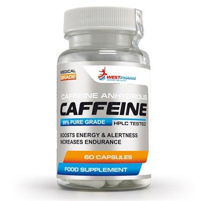 WESTPHARM Caffeine 100mg (60капс) - фото 5123