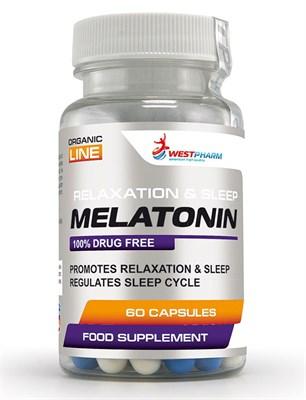 WESTPHARM - Melatonin 5mg (60капс) - фото 5131