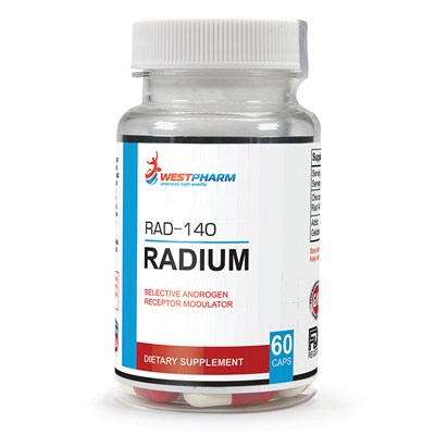 WESTPHARM - Radium (RAD-140) 10мг (60капс) - фото 5138