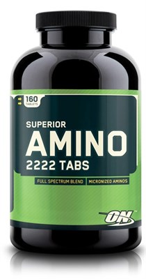 Optimum Nutrition Super Amino 2222 (160таб) - фото 5165