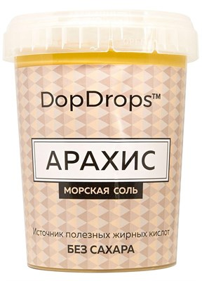 DopDrops Паста Арахис (морская соль) (1000гр) - фото 5195