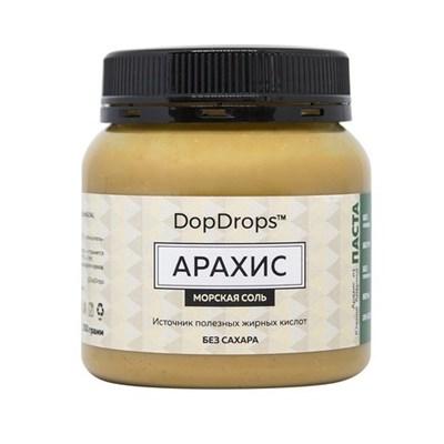 DopDrops Паста Арахис (морская соль) (250гр) - фото 5197