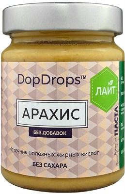 DopDrops Паста Арахис Лайт стекло (без добавок) (265гр) - фото 5215