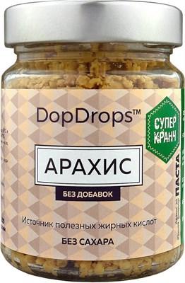 DopDrops Паста Арахис СуперКранч стекло (без добавок) (200гр) - фото 5226