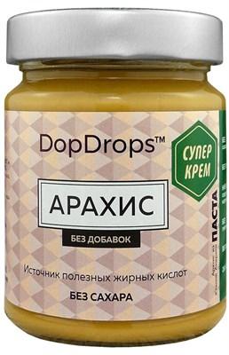 DopDrops Паста Арахис СуперКрем стекло (без добавок) (265гр) - фото 5228