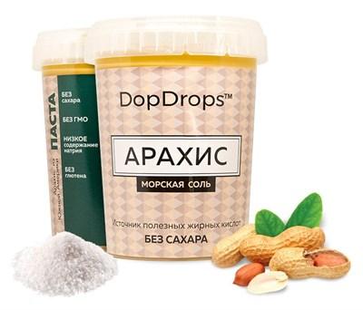 DopDrops Протеиновая паста Арахис (морская соль) (1000гр) - фото 5257