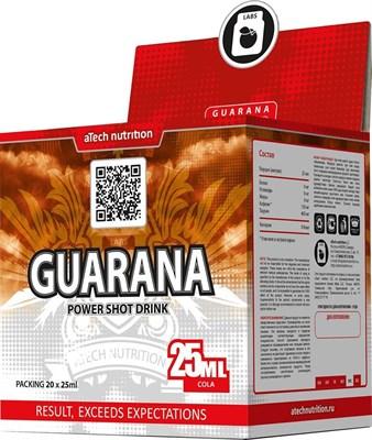 aTech Nutrition - Guarana power shot drink (20x25мл) - фото 5328