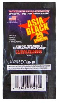 Cloma Pharma - Asia Black (1 порция) пробник - фото 5426