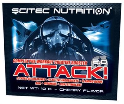 Scitec Nutrition Attack 2.0 (1 порция) пробник - фото 5470