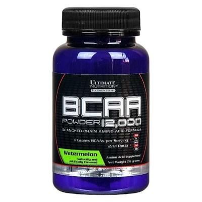 Ultimate Nutrition BCAA 12000 Powder (7,6 гр) пробник - фото 5487