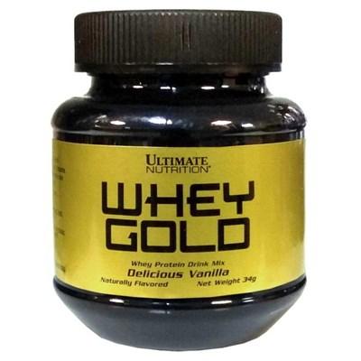 Ultimate Nutrition Whey Gold (1 порция) пробник - фото 5493