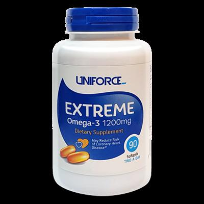 Uniforce - Extreme Omega 3 1200mg (90гел.капс) - фото 5552