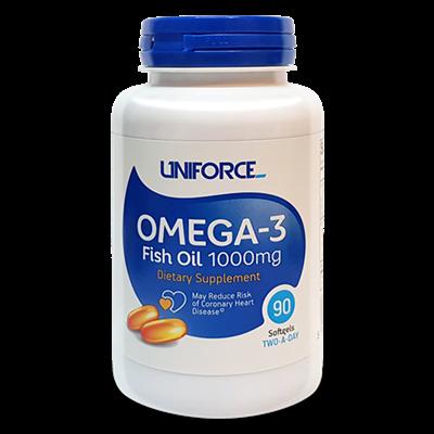 Uniforce - Omega 3 1000mg (90гел.капс) - фото 5556