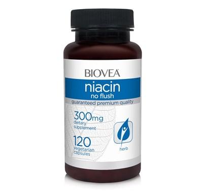 Biovea Niacin 300mg (120вег.капс) - фото 5603